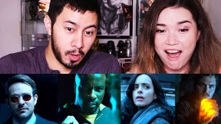 MARVEL'S THE DEFENDERS | Trailer Reaction!