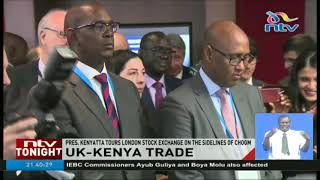 Video President Kenyatta tours London stock exchange download MP3, 3GP, MP4, WEBM, AVI, FLV September 2018