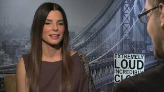Sandra Bullock, Max Von Sydow, Thomas Horn Interviews - Extremely Loud And Incredibly Close
