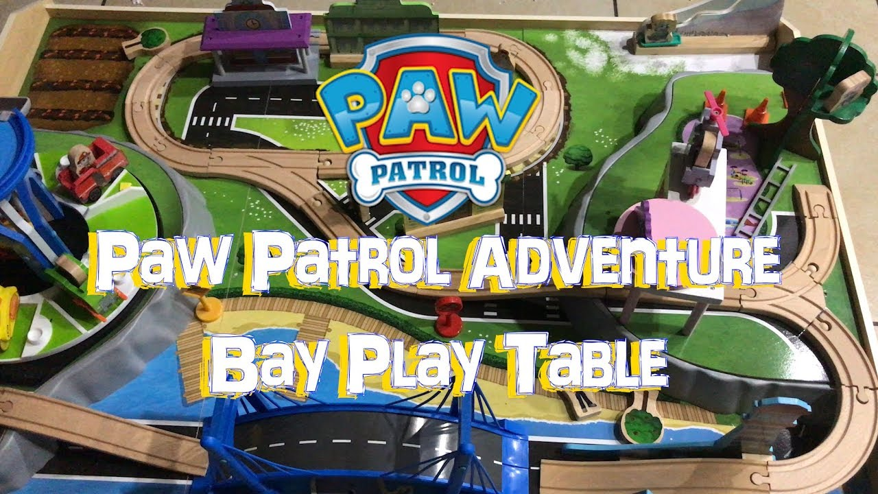 Assembling Paw Patrol Adventure Bay Play Table Its Play