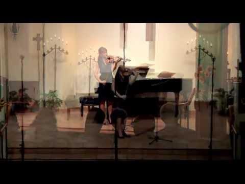 Vera Ivanova-Quiet Light for violin solo