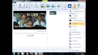 Remove audio from video by windows movie maker