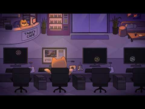 chillin' at the internet cafe - a lofi hip hop mix ~ chill with taiki