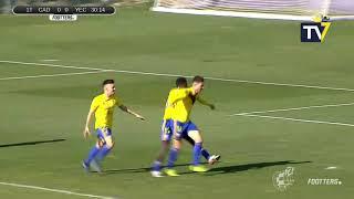 Resumen Cádiz B 2 - Yeclano 0 (19-01-20)