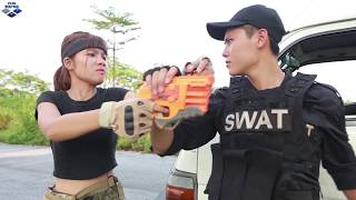 Nerf Guns War:Battleground Police Patrol Of SEAL TEAM Special Attack Dangerous Enemies Group