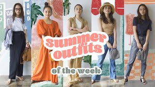 SUMMER OUTFIT LOOKBOOK