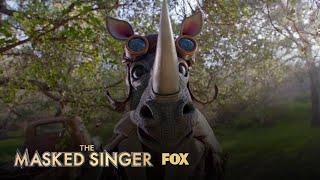 The Clues: Rhino | Season 3 Ep. 9 | THE MASKED SINGER