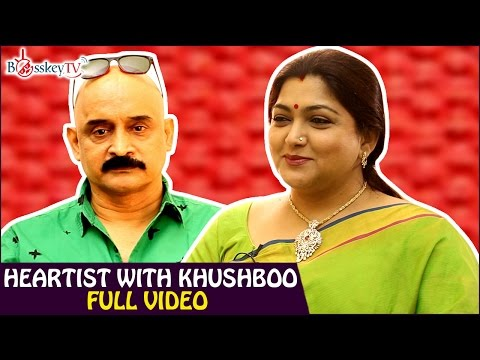 Khushboo talks about Rajinikanth, Kamal Haasan, Sundar C | Heartist Full Video | Bosskey TV