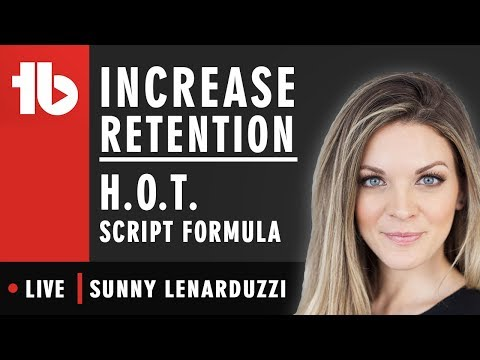THE HOT SCRIPT FORMULA – Hosted by sunny lenarduzzi