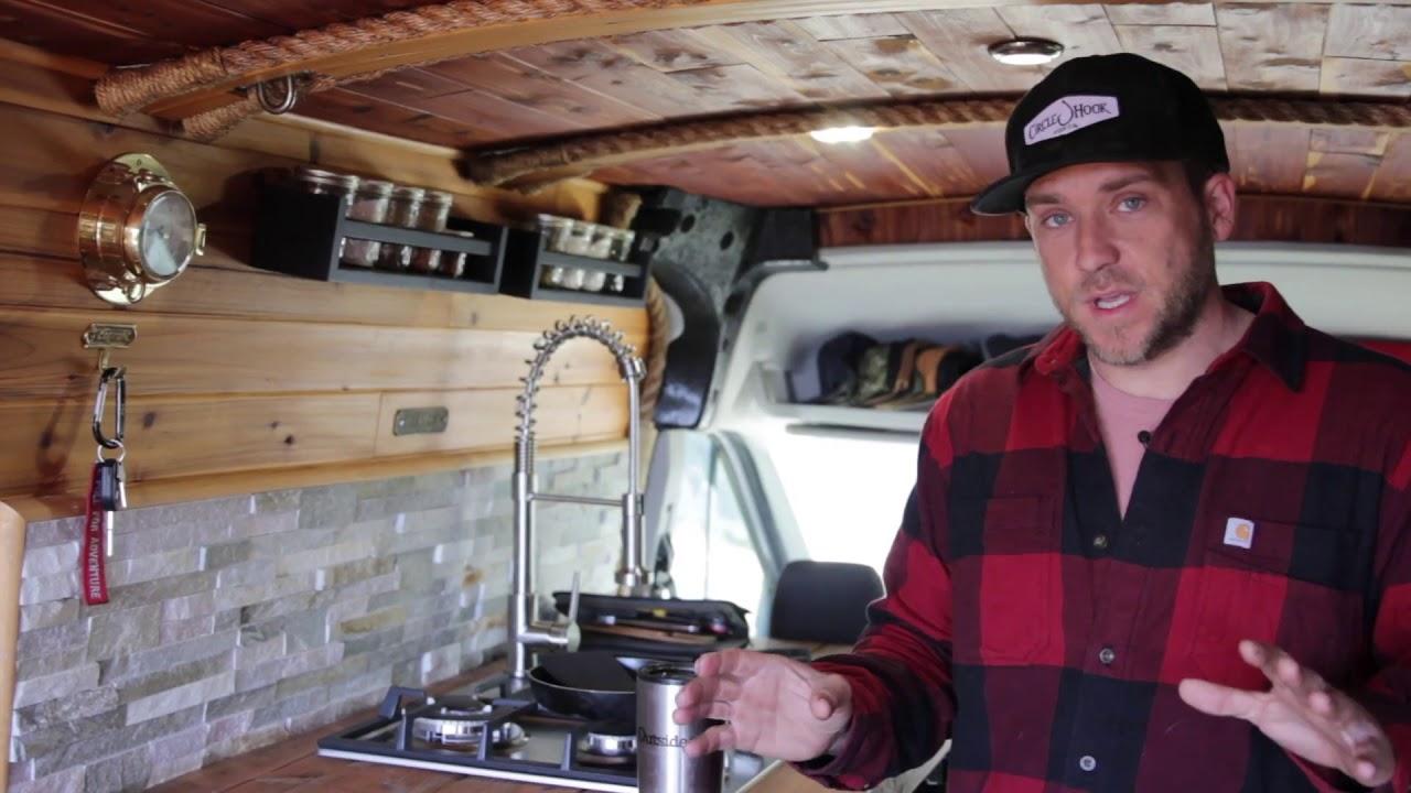 Ford Transit Van >> Van Tour with Adventure Chef Adam Glick - YouTube