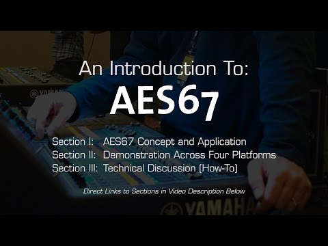 Introduction to AES67, October 2016