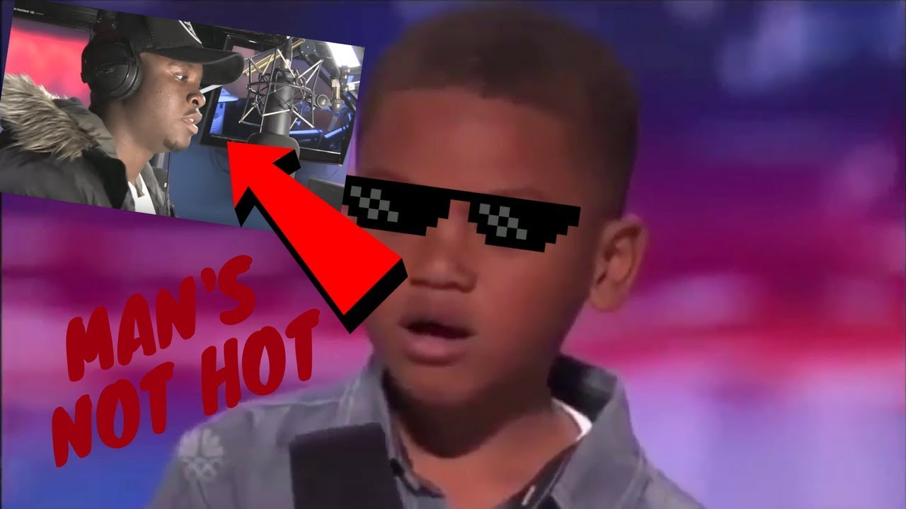 "Download Kid Raps Big Shaq ""Man's not hot"" On Americas Got Talent!"