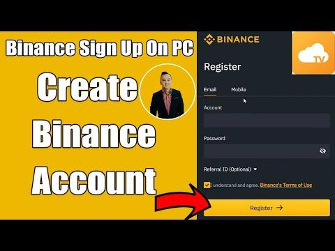 How to Create Binance Crypto Exchange Account 2021