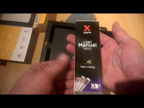 XTORM XB202 17000 mAh powerbank unboxing #xtorm #charging