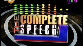 Complete Speech  - 01st September 2016