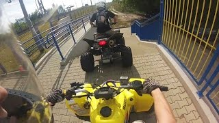 BikeLife Quad ATV Suzuki Z400 LT-Z400 | wakacyjny mix | holiday summer | jazda quadami GoPro 3 HD