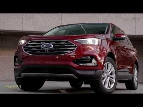New 2019-2020 Ford Edge Titanium New Concept