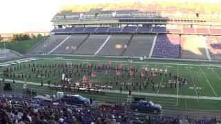 "Pride of Southwest Kansas, Dodge City High School - ""Vendetta"" 10/18/2014"