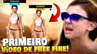 NOSSA PRIMEIRA VEZ NO FREE FIRE!