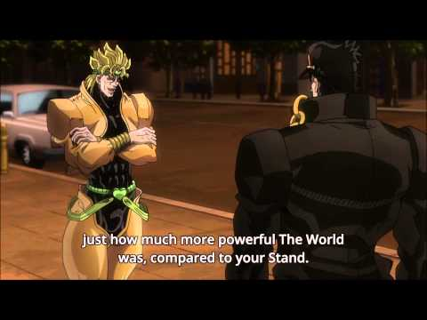 JoJo No Kimyou Na Bouken Stardust Crusaders Part II Star Platinum Vs The World