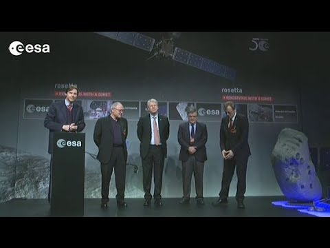 Rosetta wake-up media briefing at ESOC - Part 1