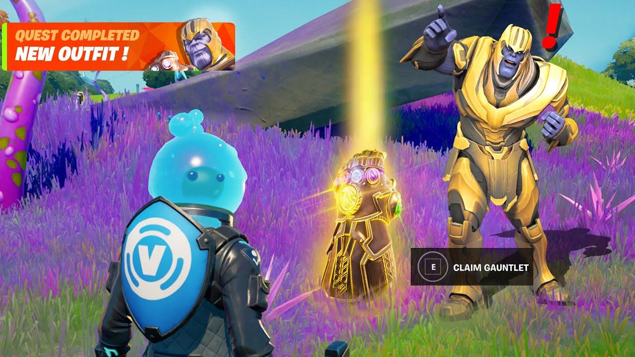 Fortnite Thanos Live Event Reward