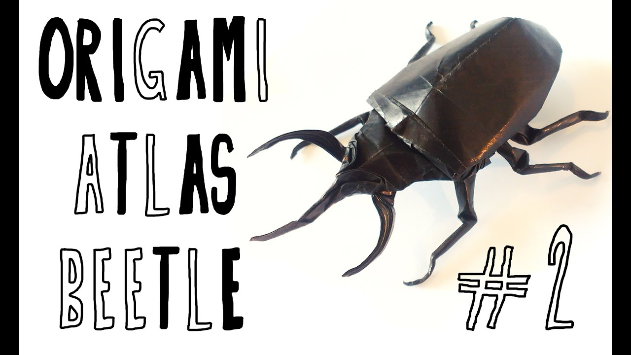 Origami Atlas Beetle (Riccardo Foschi) - Part 2: Shaping ... - photo#47