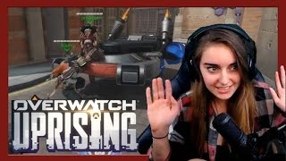 Loserfruit is a cheater! [Overwatch Uprising!]