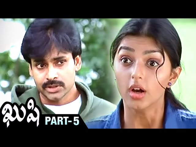 Attarintiki Daredi Pawan Kalyan's Kushi Full Movie - Part 5 - Bhumika, Mani Sharma Travel Video