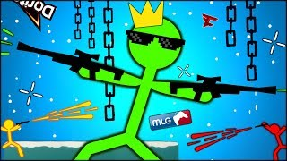 THE ULTIMATE MLG STICK MAN IS HERE (Stick Fight #2)