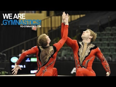 2012 Acrobatic Gymnastics Worlds LAKE BUENA VISTA  Women's & Men's Pair Finals  We are Gymnastics!