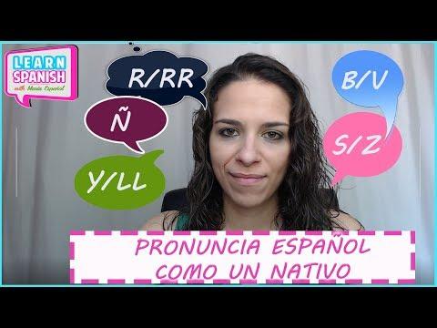 EVERYTHING you need to know about Spanish pronunciation || María Español