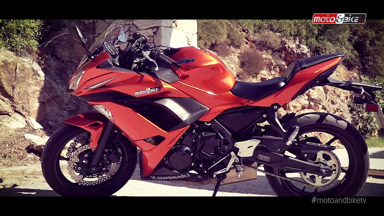 Kawasaki Ninja 650 Test Ride Youtube