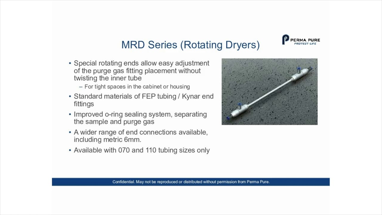 MD Series Gas Sample Dryers – Perma Pure