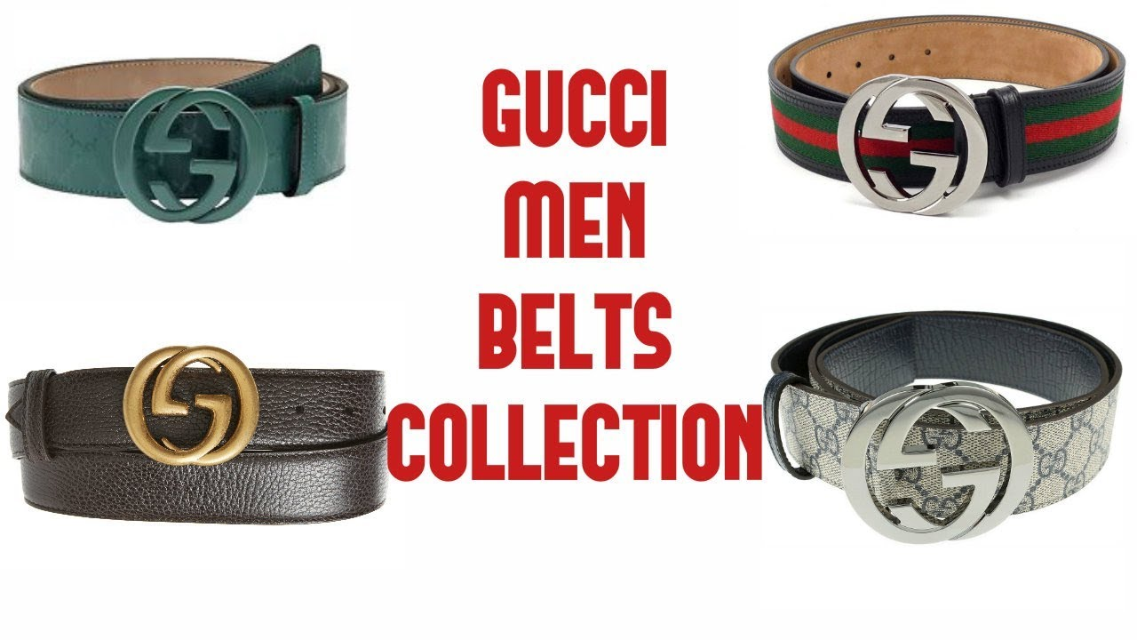 b5b4d71f160 Gucci Mens Belt Collections 2018   GUCCI BELT REVIEW   STYLING - YouTube