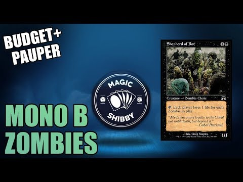 Magic: The Gathering - Mono B Zombies + Sideboard (Building on a ...