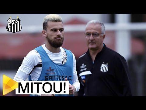 É MONTAGEM? Lucas Lima faz gol SENSACIONAL em treino do Peixe