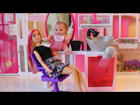 Barbie and Baby