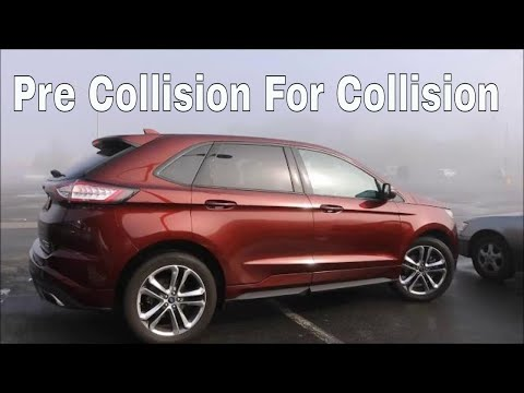 2017 Ford Edge Sport 2.7 ecoboost 0-60 0-80 Review test drive Active Park assist test