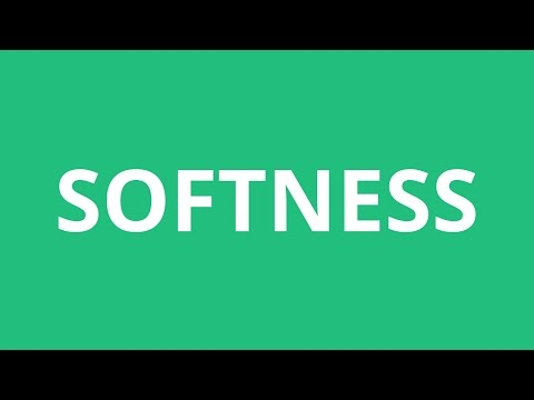 How To Pronounce Softness - Pronunciation Academy