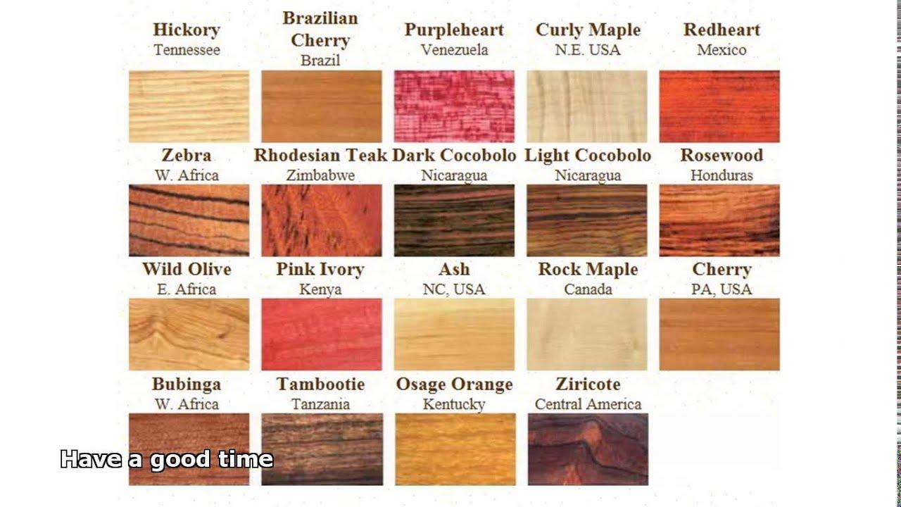 Exotic Hardwoods Youtube