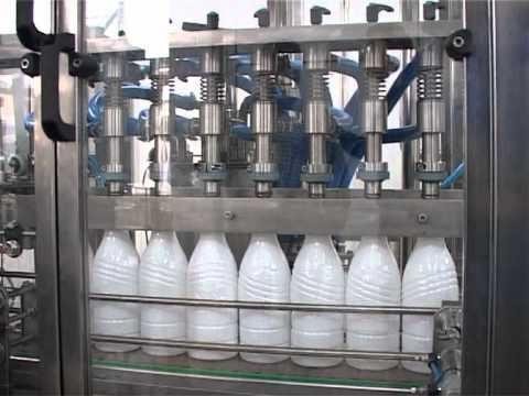 PET Bottling Line (filler, capper, labeler)