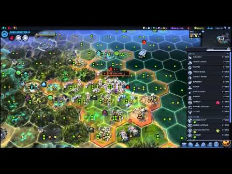 Beyond Earth Strategy & Tactics 9: Autoplants Transform and Roll out! (Please!?)
