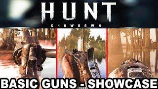 Hunt: Showdown - Basic Weapons Showcase