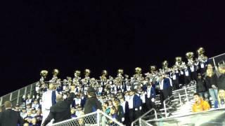 GVSU Laker Marching Band 2013 - Trumpet Charge - Vs. Truman