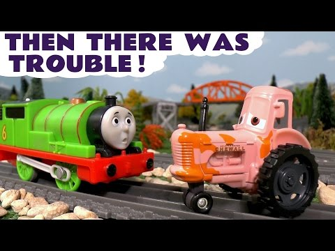 Thomas and Friends Toy Trains Then There Was Trouble Toy Stories with Disney Cars and Minions TT4U