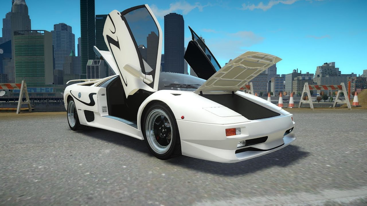 Lamborghini Diablo Crash Auto Bild Idee