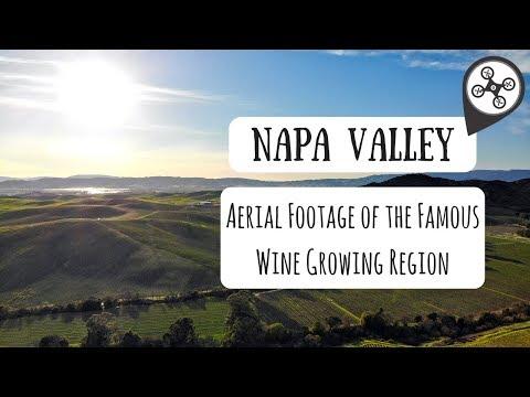 Napa Valley, CA | Aerial Drone Footage (4K)