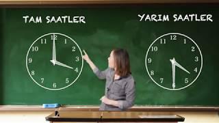1.Sınıf Matematik Tam ve Yarım Saatler Konu Anlatımı