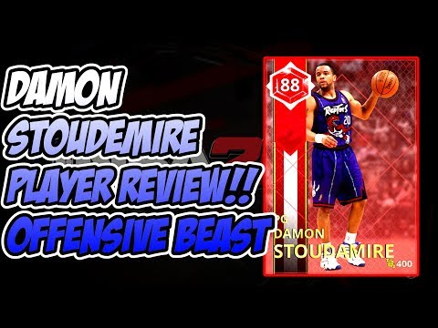 RUBY DAMON STOUDEMIRE PLAYER REVIEW!! SLEEPER BUDGET CARD!! NBA 2k18 MyTEAM